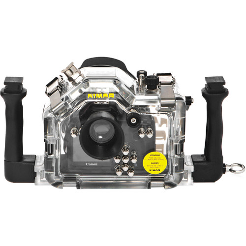 Nimar Underwater Housing for Canon EOS Rebel T3/1100D with Lens Port for EF-S 18-55mm f/3.5-5.6 IS