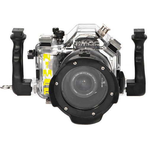 Nimar Underwater Housing for Canon EOS 650D/Rebel T4i with Lens Port for EF-S 18-55mm f/3.5-5.6 IS