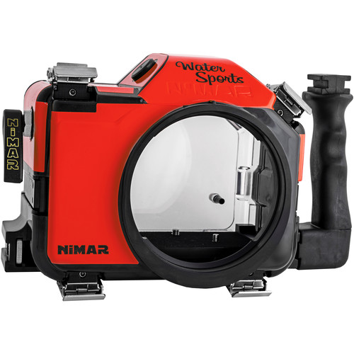 Nimar Water Sports Housing for Canon EOS 5D Mark IV (Red/Clear)