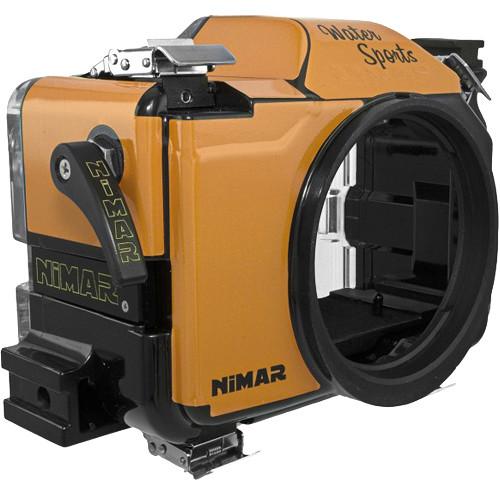 Nimar Water Sports Housing for Sony Alpha a7II, a7R II, or a7S II (Orange/Clear)