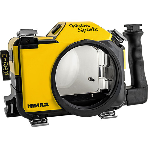 Nimar Water Sports Housing for Nikon D600 or D610 (Yellow/Clear)