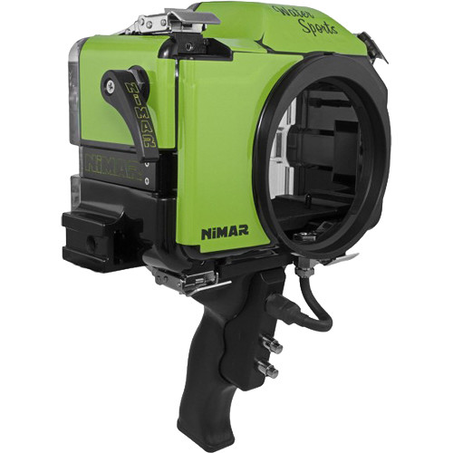Nimar Water Sports Housing with Pistol Grip for Panasonic Lumix DC-GH5 (Green/Clear)
