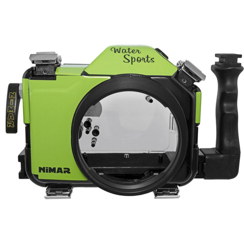 Nimar Water Sports Housing for Panasonic Lumix DC-GH5/GH5S (Green/Clear)
