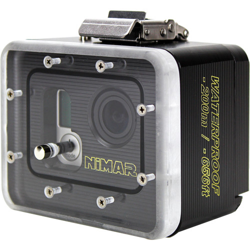 Nimar Underwater Deep Dive Housing for GoPro HERO3/3+/4