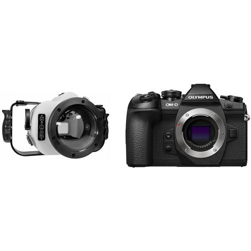 Nimar Underwater Housing and Olympus EM1 Mark II Camera Body Kit