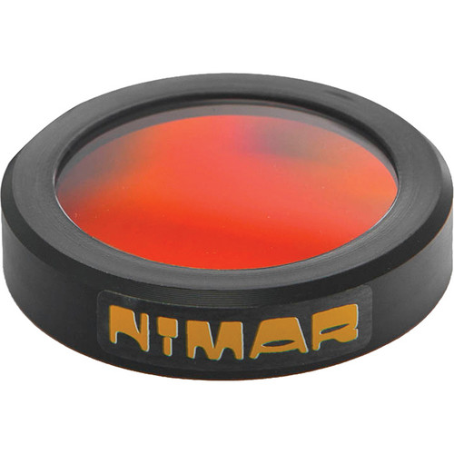 Nimar 57mm UR Pro Red Correction Filter for Select Nimar Underwater Housings