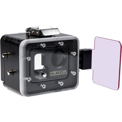 Nimar Purple Correction Filter Set for Deep Housing for GoPro