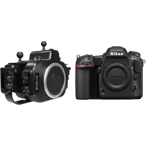 Nimar PRO Underwater Housing and Nikon D500 Camera Body Kit