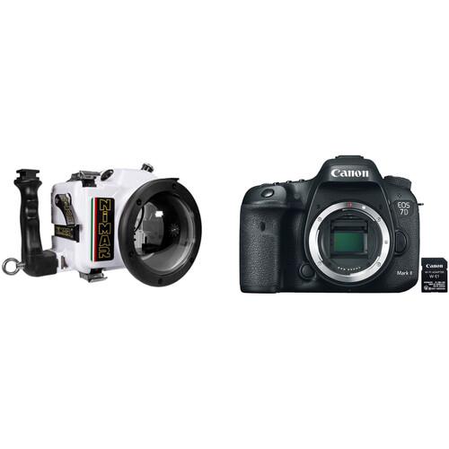 Nimar Underwater Housing and Canon EOS 7D Mark II DSLR Camera Body Kit
