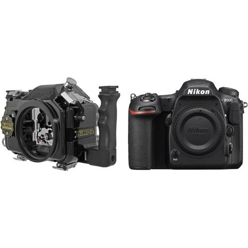 Nimar Underwater Housing and Nikon D500 DSLR Camera Body Kit