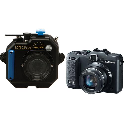 Nimar Underwater Housing with Canon PowerShot G15 Digital Camera Kit