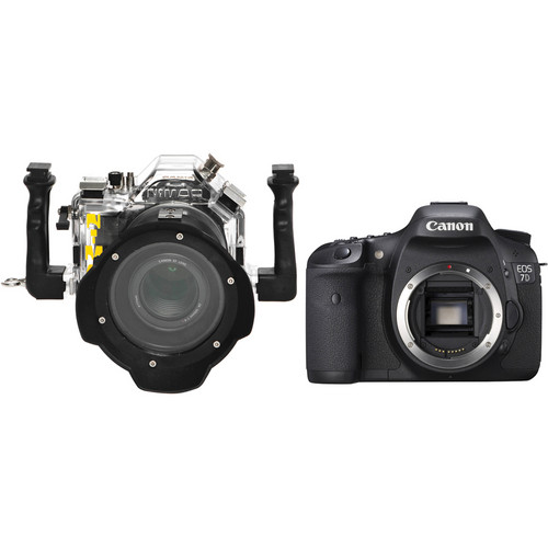 Nimar Underwater Housing with EF 24-105mm Lens Port and Canon EOS 7D DSLR Camera Body Kit
