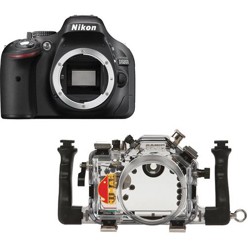 Nimar Underwater Housing with Nikon D5200 DSLR Camera Body Kit