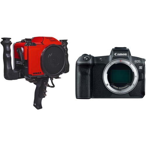 Nimar Water Sports Housing and Canon EOS R Mirrorless Camera Body Kit