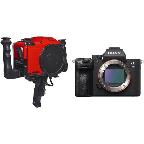 Nimar Water Sports Housing and Sony a7 III Mirrorless Camera Body Kit