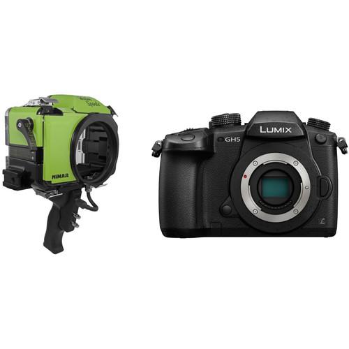 Nimar Water Sports Housing and Panasonic Lumix DC-GH5 Mirrorless Camera Body Kit