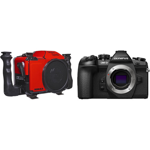 Nimar Water Sports Housing and Olympus OM-D E-M1 Mark II Camera Body Kit