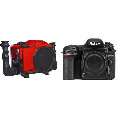 Nimar Water Sports Housing and Nikon D7500 Camera Body Kit