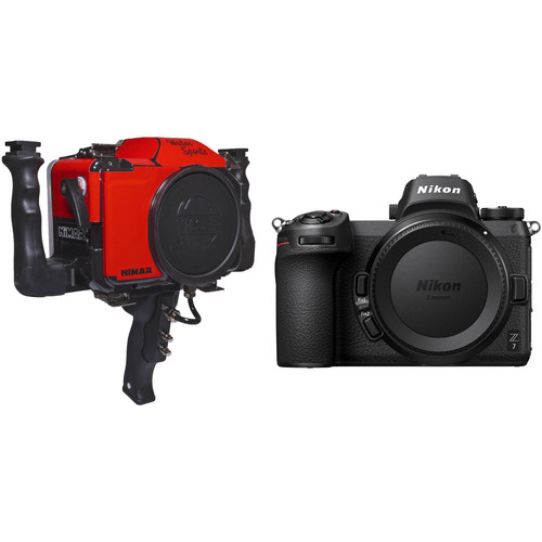 Nimar Water Sports Housing with Side & Pistol Grips and Nikon Z 7 Camera Body Kit
