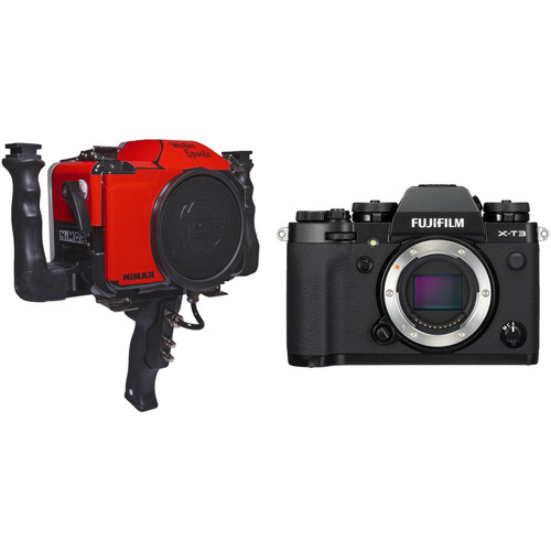 Nimar Water Sports Housing with Pistol Grip and FUJIFILM X-T3 Camera Body Kit