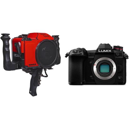 Nimar Water Sports Housing with Pistol Grip and Panasonic Lumix DC-G9 Camera Body Kit
