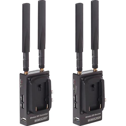Nimbus WiMi5200A Wireless 3G-SDI H.264 Encoder/Decoder Set