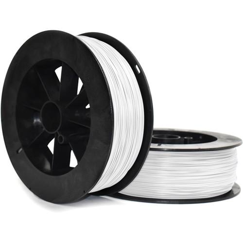 NinjaTek Armadillo 1.75mm 75D TPU Nylon Alternative Filament (2kg, Snow)