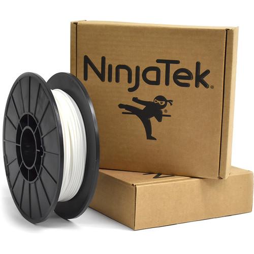 NinjaTek Armadillo 3mm 75D TPU Nylon Alternative Filament (0.5kg, Snow)