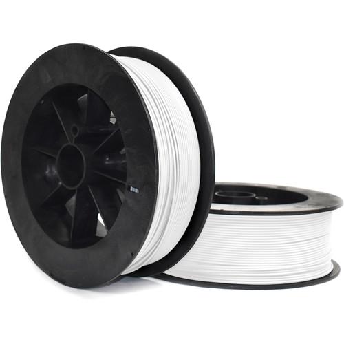 NinjaTek Armadillo 3mm 75D TPU Nylon Alternative Filament (2kg, Snow)