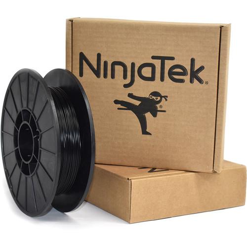 NinjaTek Armadillo 1.75mm 75D TPU Nylon Alternative Filament (0.5kg, Midnight)