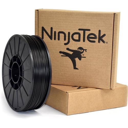NinjaTek Armadillo 1.75mm 75D TPU Nylon Alternative Filament (1kg, Midnight)