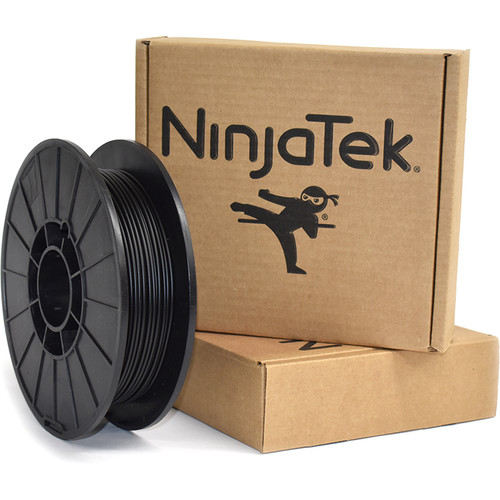 NinjaTek Armadillo 3mm 75D TPU Nylon Alternative Filament (0.5kg, Midnight)
