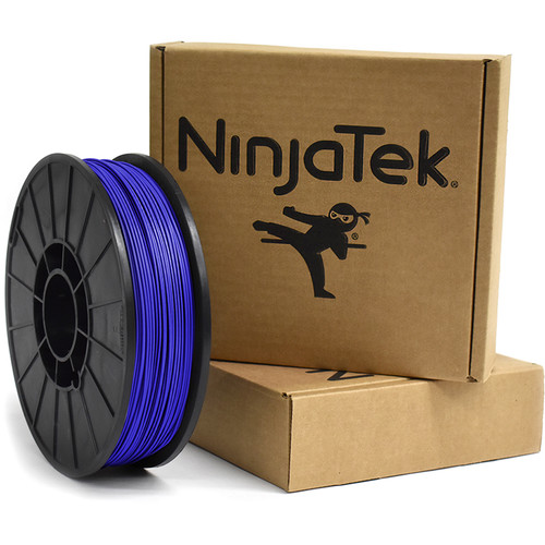 NinjaTek Armadillo 1.75mm 75D TPU Nylon Alternative Filament (1kg, Sapphire)