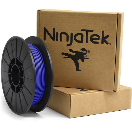 NinjaTek Armadillo 3mm 75D TPU Nylon Alternative Filament (0.5kg, Sapphire)