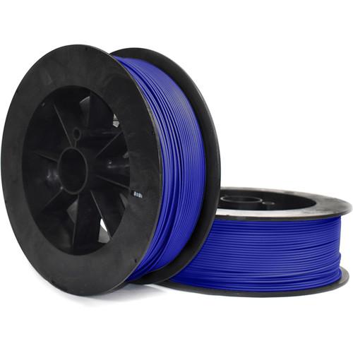 NinjaTek Armadillo 3mm 75D TPU Nylon Alternative Filament (2kg, Sapphire)