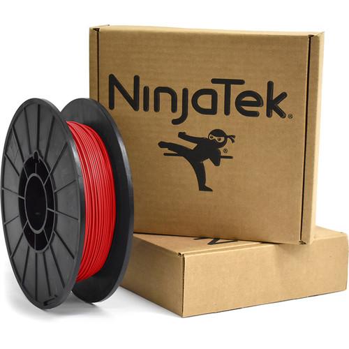 NinjaTek Armadillo 1.75mm 75D TPU Nylon Alternative Filament (0.5kg, Fire)