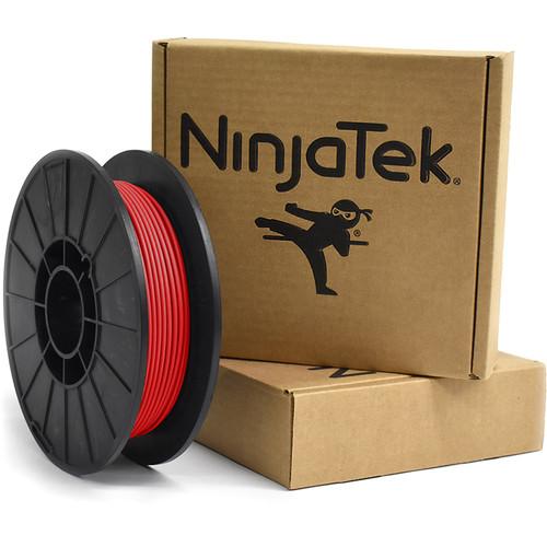 NinjaTek Armadillo 3mm 75D TPU Nylon Alternative Filament (0.5kg, Fire)