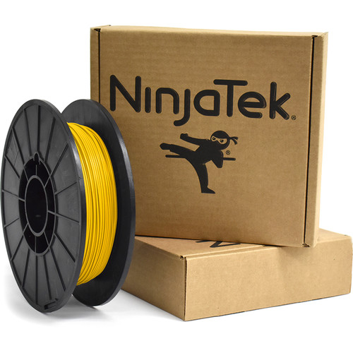 NinjaTek Armadillo 1.75mm 75D TPU Nylon Alternative Filament (0.5kg, Sun)