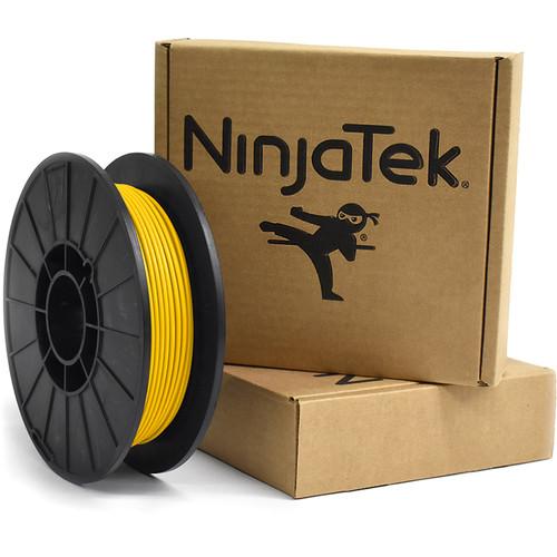 NinjaTek Armadillo 3mm 75D TPU Nylon Alternative Filament (0.5kg, Sun)