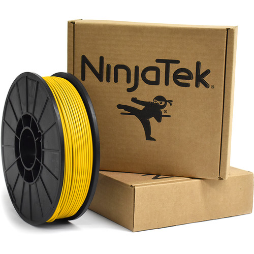NinjaTek Armadillo 3mm 75D TPU Nylon Alternative Filament (1kg, Sun)