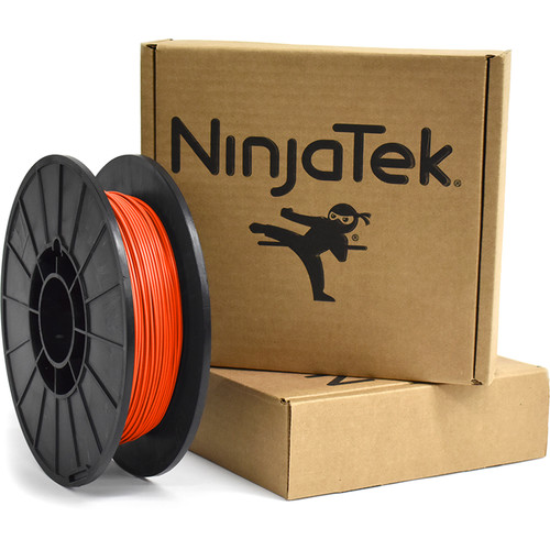 NinjaTek Armadillo 1.75mm 75D TPU Nylon Alternative Filament (0.5kg, Lava)