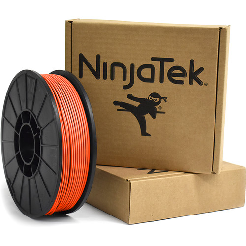NinjaTek Armadillo 3mm 75D TPU Nylon Alternative Filament (1kg, Lava)