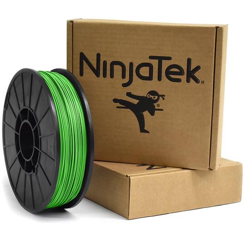 NinjaTek Armadillo 1.75mm 75D TPU Nylon Alternative Filament (1kg, Grass)