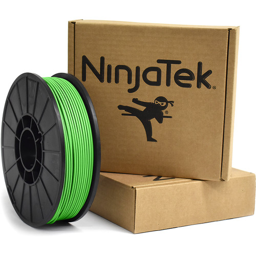 NinjaTek Armadillo 3mm 75D TPU Nylon Alternative Filament (1kg, Grass)