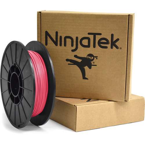 NinjaTek Armadillo 1.75mm 75D TPU Nylon Alternative Filament (0.5kg, Flamingo)