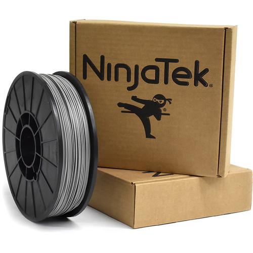 NinjaTek Armadillo 1.75mm 75D TPU Nylon Alternative Filament (1kg, Steel)