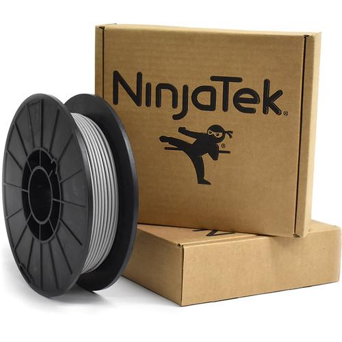 NinjaTek Armadillo 3mm 75D TPU Nylon Alternative Filament (0.5kg, Steel)