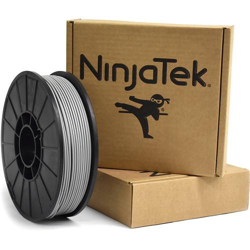 NinjaTek Armadillo 3mm 75D TPU Nylon Alternative Filament (1kg, Steel)