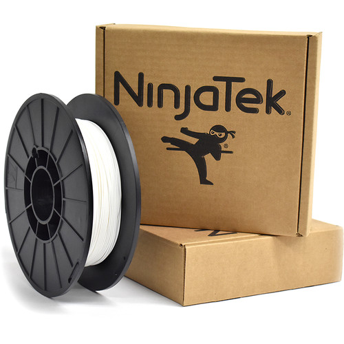 NinjaTek Cheetah 1.75mm 95A TPU Flexible Filament (1kg, Snow)