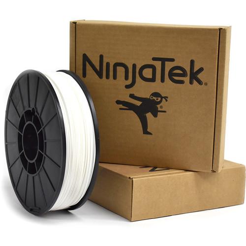 NinjaTek Cheetah 1.75mm 95A TPU Flexible Filament (2kg, Snow)
